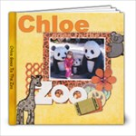 Chloe Goes To The Zoo - 8x8 Photo Book (20 pages)