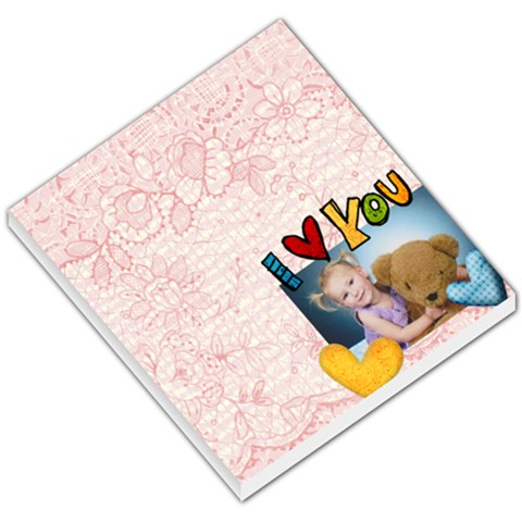 Love You By Belinda Hotz   Small Memo Pads   Ddjvlvi1ev1i   Www Artscow Com