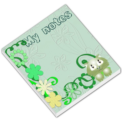 Notas Gato By Lydia   Small Memo Pads   Slhrsw52mu28   Www Artscow Com