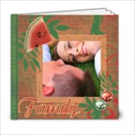 Melonberry Swirl 6x6 Photo Book - 6x6 Photo Book (20 pages)