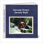 Damask Dream Sample 6x6 Book - 6x6 Photo Book (20 pages)