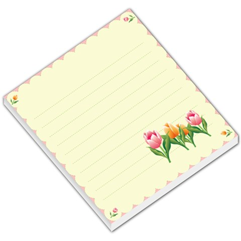 Flower Memo By Wood Johnson   Small Memo Pads   Kpe65xn9ol86   Www Artscow Com