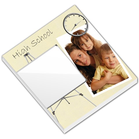 School Memo By Wood Johnson   Small Memo Pads   Rnflly2pho0l   Www Artscow Com