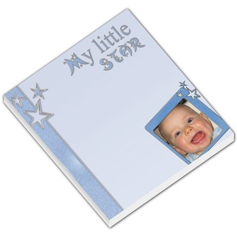 My Little Star Boy   Memopad By Carmensita   Small Memo Pads   Zyfy5tpzk5x8   Www Artscow Com