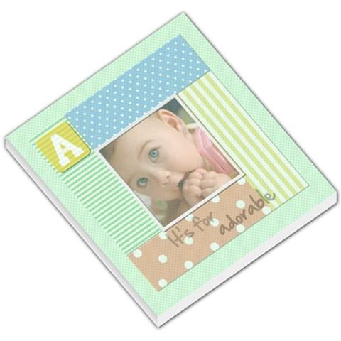 A It s For Adorable   Memopad By Carmensita   Small Memo Pads   9zsd3i82zhvz   Www Artscow Com