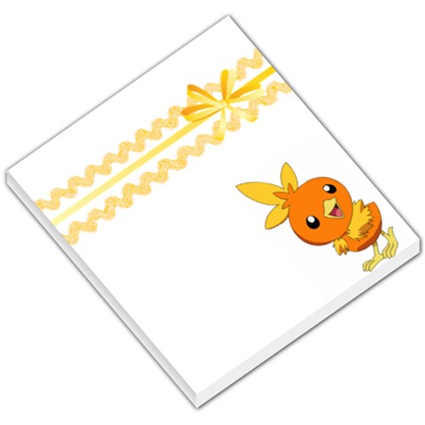 Torchic By Mccall Melanie   Small Memo Pads   B6l5rl5sytup   Www Artscow Com