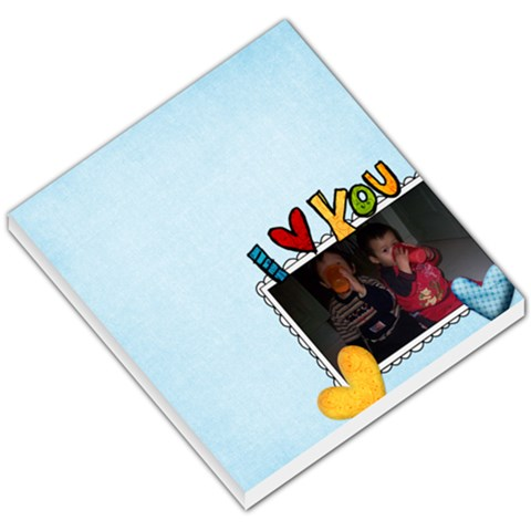 Love You By Janice   Small Memo Pads   Sw0zh4bh5ca2   Www Artscow Com