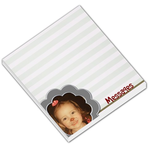 Messages Notepad By Amanda Bunn   Small Memo Pads   Xtsb35a971ex   Www Artscow Com