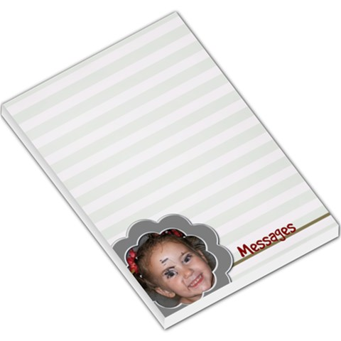Messages Large Notepad By Amanda Bunn   Large Memo Pads   Rlp0qwlgeg4w   Www Artscow Com