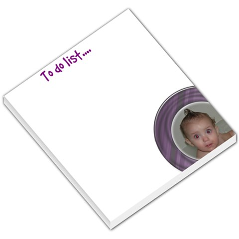 To Do List By Amanda Bunn   Small Memo Pads   5ftee2zzj8ei   Www Artscow Com