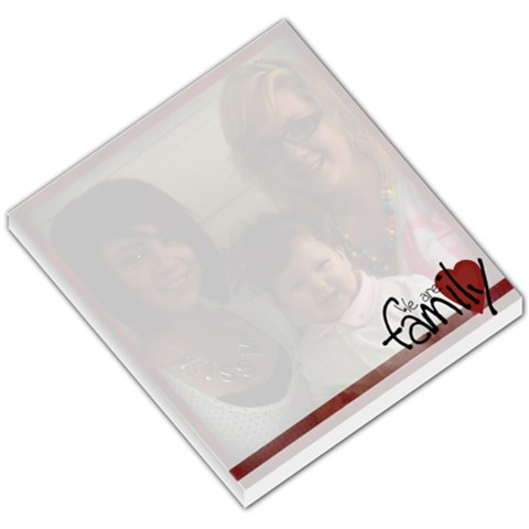 We Are Family Notepad By Amanda Bunn   Small Memo Pads   Xv4qawdnfp21   Www Artscow Com