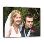 Wedding Portrait - Canvas 14  x 11  (Stretched)