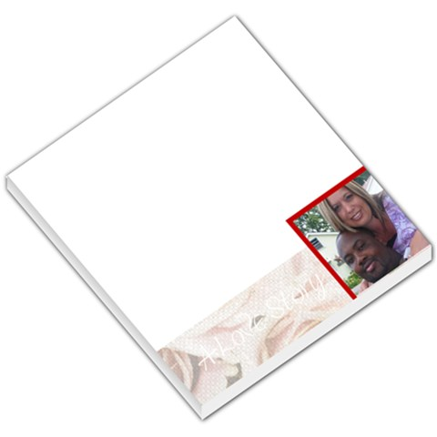 Love004 By Jamie Green   Small Memo Pads   6miwv02oh3ce   Www Artscow Com