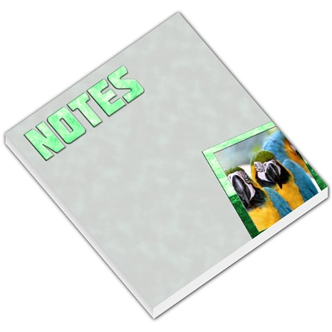 Notes Green   Memopad By Carmensita   Small Memo Pads   R1mzh259ksuv   Www Artscow Com