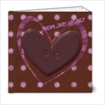 6X6 PHOTO BOOK LOVE - 6x6 Photo Book (20 pages)