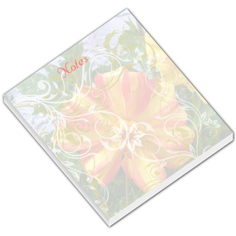 Flower Power Notes By Birkie   Small Memo Pads   O4rabactc30q   Www Artscow Com