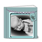 newborn baby boy book- template - 6x6 Deluxe Photo Book (20 pages)