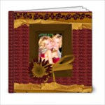 autumn template book 6x6 - 6x6 Photo Book (20 pages)