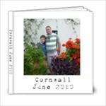 Cornwall 2010 volume 2 - 6x6 Photo Book (20 pages)