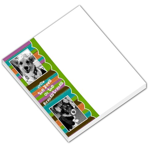 From The Paws Of    By Rebecca Grandstrand   Small Memo Pads   Cicntt3hpkjz   Www Artscow Com