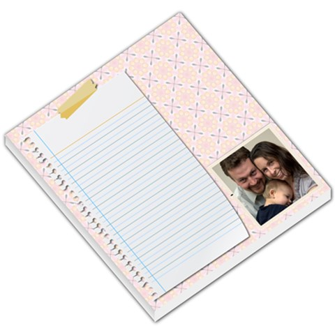 Notepad   The Three Of Us By Jenny   Small Memo Pads   R960yxk4rnyl   Www Artscow Com