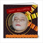Halloween template book  6x6 - 6x6 Photo Book (20 pages)