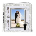 Our Wedding 6x6 Photo Book - 6x6 Photo Book (20 pages)