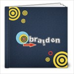 8 x 8 (20pages)- Template BRAIDEN - 8x8 Photo Book (20 pages)