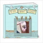 a day at the beach template book 6x6 - 6x6 Photo Book (20 pages)