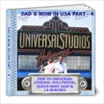 DAD & MOM IN USA PART- 4 - 8x8 Photo Book (20 pages)