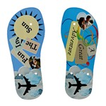 Ladies Travel Flip Flops - Women s Flip Flops