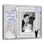 White Wedding 24x20 Canvas - Canvas 24  x 20  (Stretched)