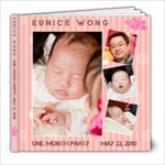 eunice full moon - 8x8 Photo Book (20 pages)