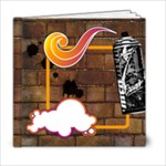 funky alley - 6x6 Photo Book (20 pages)