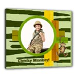 Cheeky Monkey 24 x 20 framed canvas template - Canvas 24  x 20  (Stretched)