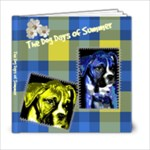 Blue and Yellow Summer Book - 6x6 Photo Book (20 pages)