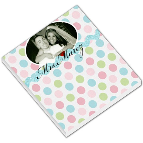 Wedding Day Memo Pad By Krystal M    Small Memo Pads   Hxtrei52g0ia   Www Artscow Com