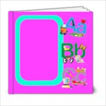 Cute alphabet 6x6 template - 6x6 Photo Book (20 pages)
