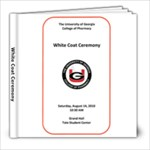 white coat - 8x8 Photo Book (20 pages)