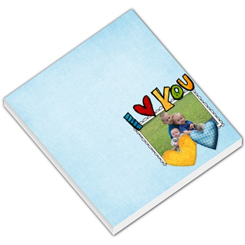 Love You By Joe Rush   Small Memo Pads   Ej5ruqi25mmj   Www Artscow Com
