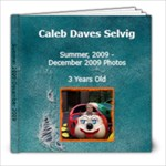 Caleb s 3-4 year old photos - 8x8 Photo Book (39 pages)
