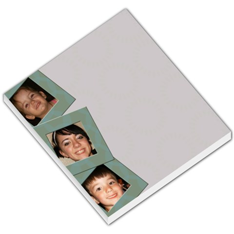 3 Photo Side Frame Memopad By Amanda Bunn   Small Memo Pads   Kyx2wmawo87e   Www Artscow Com