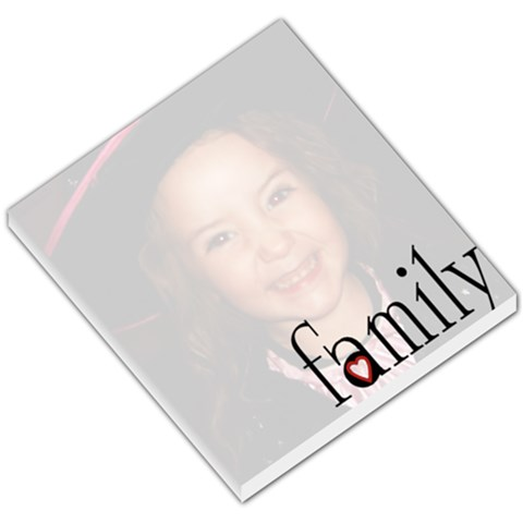 Family Single Photo Memopad By Amanda Bunn   Small Memo Pads   2tjk9wceuqc9   Www Artscow Com