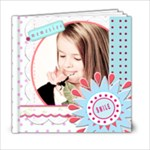 girl template book 6x6 - 6x6 Photo Book (20 pages)