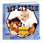 cowboy/rodeo template book - 8x8 Photo Book (20 pages)