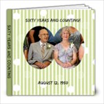 Grandma and Grandpa s 60th - 8x8 Photo Book (20 pages)