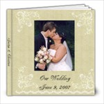 wedding book - 8x8 Photo Book (20 pages)