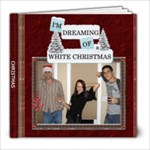 White Christmas 8x8 Photo Book - 8x8 Photo Book (20 pages)