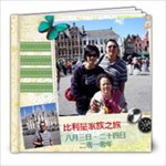 Europe Trip Aug3-24,2010 - 8x8 Photo Book (20 pages)