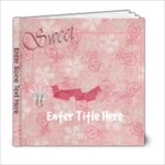 It s A Girl Thing 6x6 Photo Book - 6x6 Photo Book (20 pages)